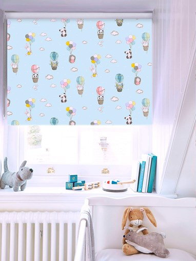Blackout Up Up and Away No Drill Roller Blind