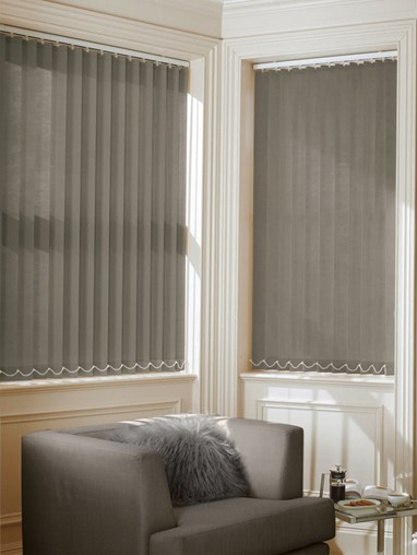 Ash Daylight 89mm Vertical Blind Replacement Slats