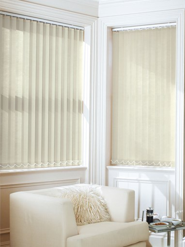 Oatmeal Daylight 89mm Vertical Blind Replacement Slats