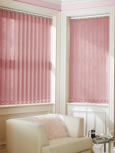 Ophelia 89mm Dim-Out Vertical Blind