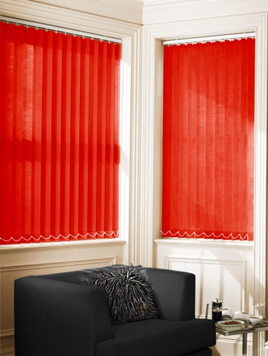 Romeo 89mm Dim-Out Vertical Blind