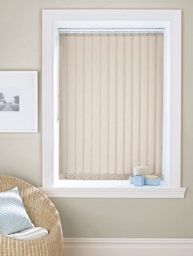 Shingle 89mm Dim-Out Vertical Blind
