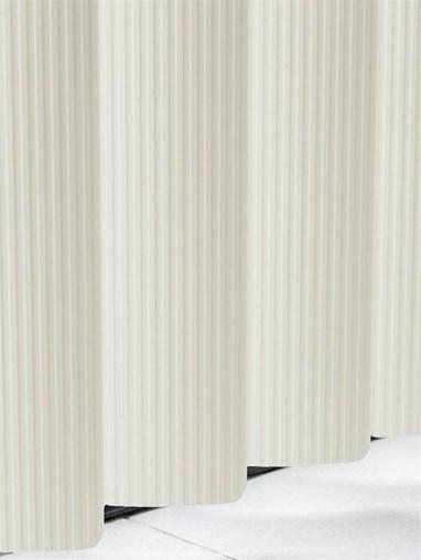 Ridged Dove Rigid PVC 89mm Vertical Blind