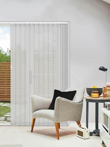 Horizon Tungsten 89mm Sunscreen Vertical Blind