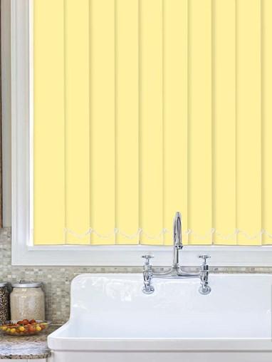 Mango Plain Waterproof 89mm Vertical Blind Replacement Slats