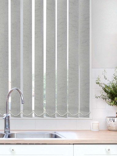 Contrast Graphite Waterproof 89mm Vertical Blind Replacement Slats