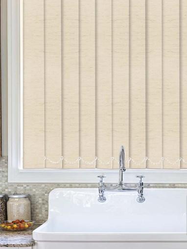 Contrast Stone Waterproof 89mm Vertical Blind Replacement Slats