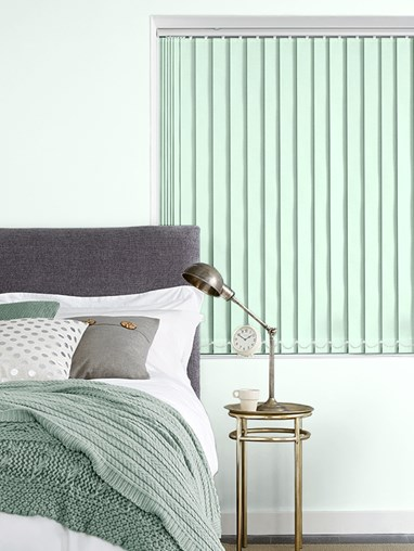 Dewy Green Blackout 89mm Vertical Blind Replacement Slats
