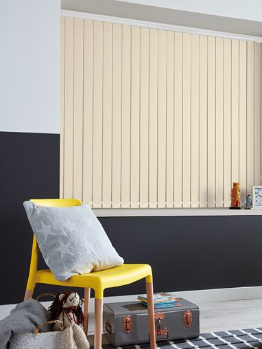 Rainy Day 89mm Blackout Vertical Blind
