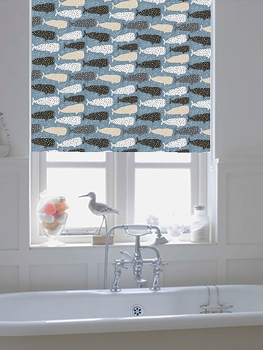Whale Of A Time Roller Blind