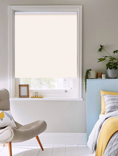 Whipped Cream Thermal Plus Blackout Roller Blind