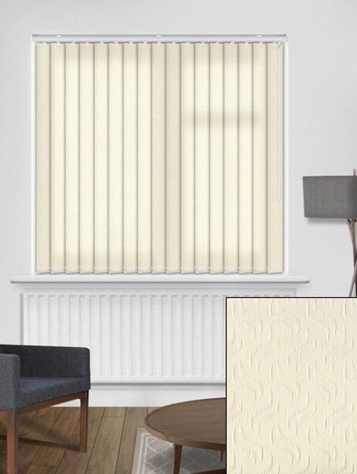 Equi Cream 89mm Vertical Blind Replacement Slats