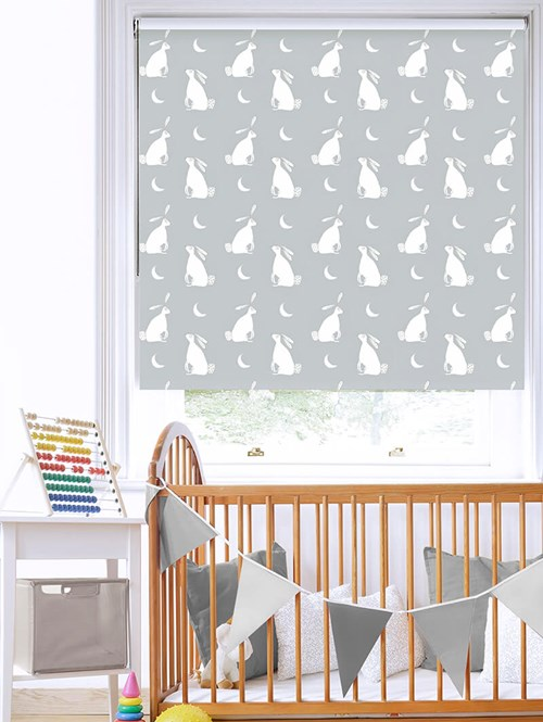Moongazing on Cloud Roller Blind by Amanda Redwin