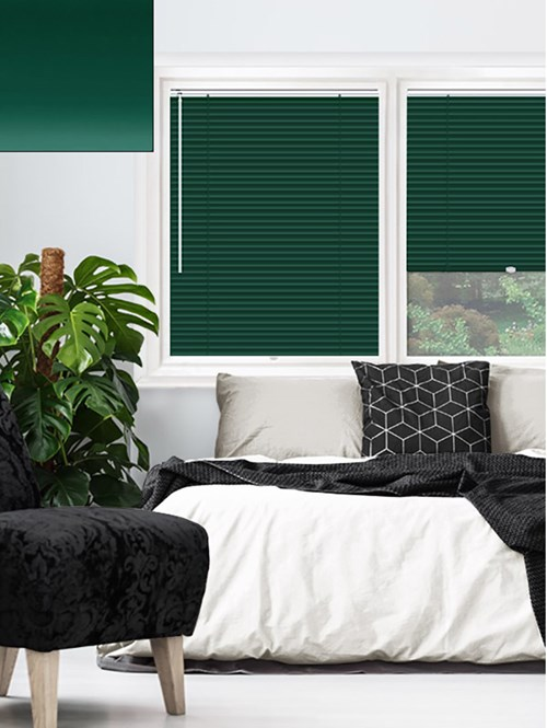 Matte Forest Green 25mm Perfect Fit Venetian Blind