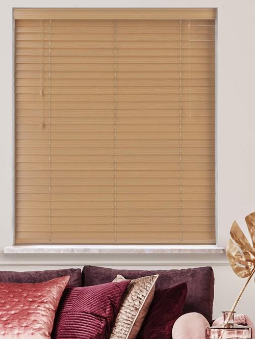 Sycamore Real Wood Venetian Blind