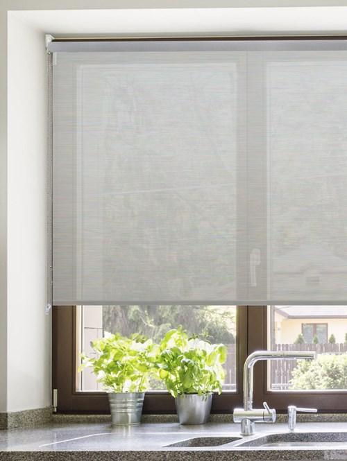 Grey 3% Openness Sunscreen Roller Blind