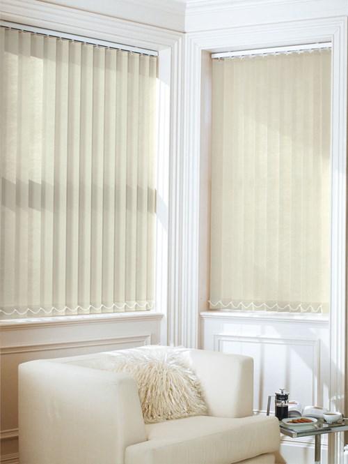 Oatmeal 89mm Daylight Vertical Blind