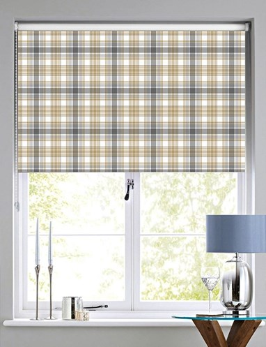 Wallace Check Roller Blind