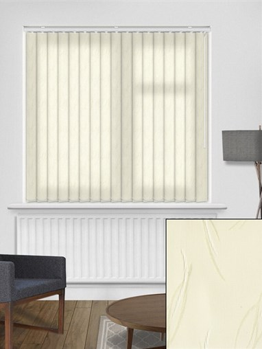 Tangle Cream 89mm Dim-Out Vertical Blind