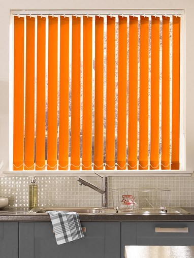 Clementine Daylight 89mm Vertical Blind Replacement Slats